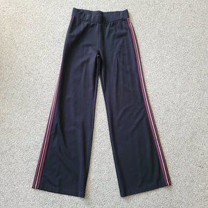 NWT Express One Eleven Side Striped Wide Leg Pants